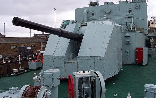Зенитная пушка  QF-4.5 Inch Mk - IV