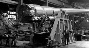Железнодорожное орудие BL-13,5 inch / 45 Mk-V