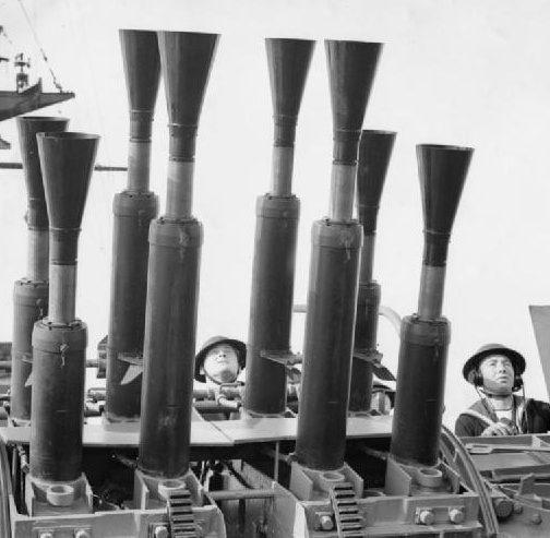 корабельное зенитное орудие Mk-VIII