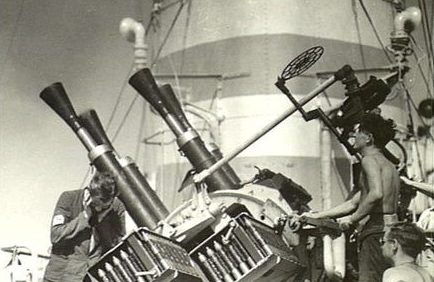 корабельное зенитное орудие Vickers QF-2 pounder Mk-VIII
