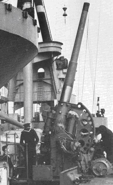 Зенитная пушка QF-4.7 inch Gun Mk -VIII.