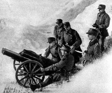 Горная пушка 7,5-сm Gebirgsgeschütz 18