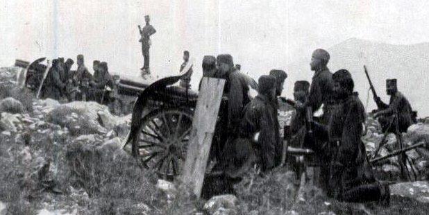 Горная 70-мм пушка «М. 1907 Schneider-Canet».