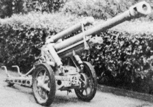 Горная пушка 7,5-cm Gebirgsgeschütz 43