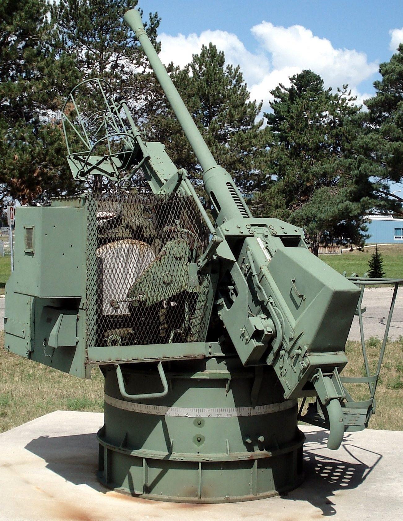 Морской одноствольный вариант «QF-40 mm»