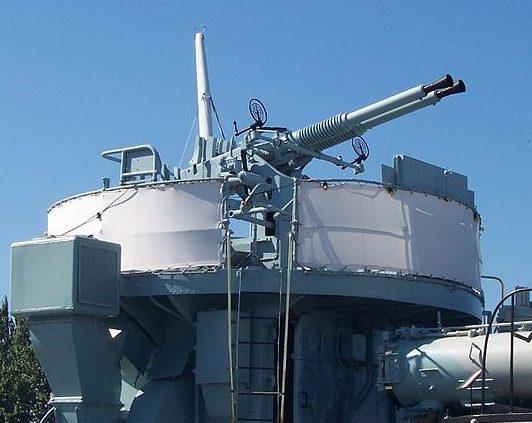 морской двухствольный вариант «QF-40 mm»