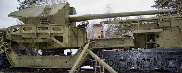 Железнодорожная артиллерийская установка TM-1-180