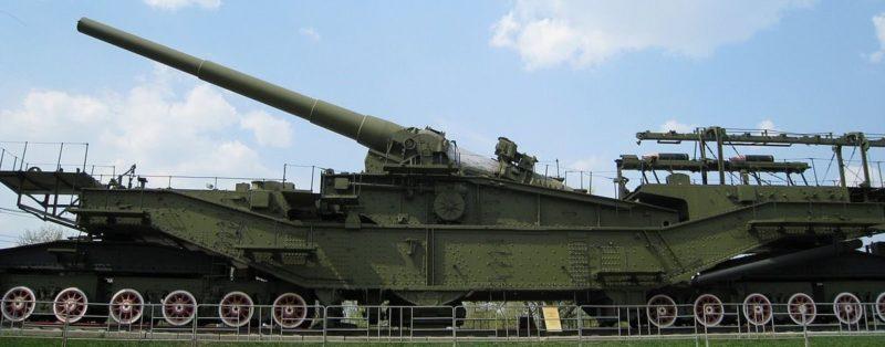 Железнодорожная артиллерийская установка ТМ-3-12