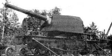 203-мм железнодорожный транспортер ТМ-8.