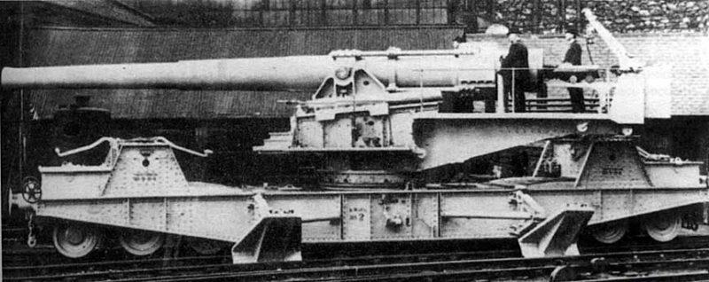 Железнодорожное орудие BL-9.2 inch Mk-10