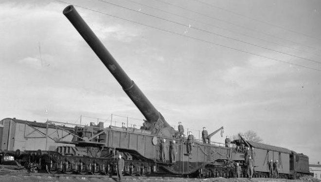 Железнодорожное орудие BL-18 inch