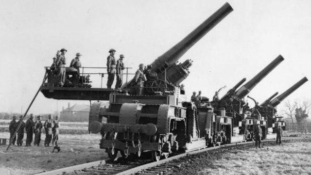 Железнодорожное орудие BL - 2 inch Mk-III