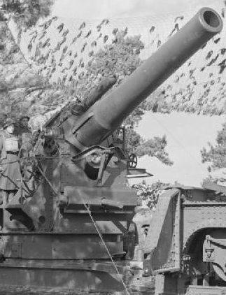 Железнодорожное орудие BL - 2 inch Mk–V