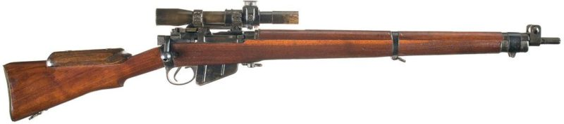 Снайперская винтовка SMLE №4 Mk-1(Т).