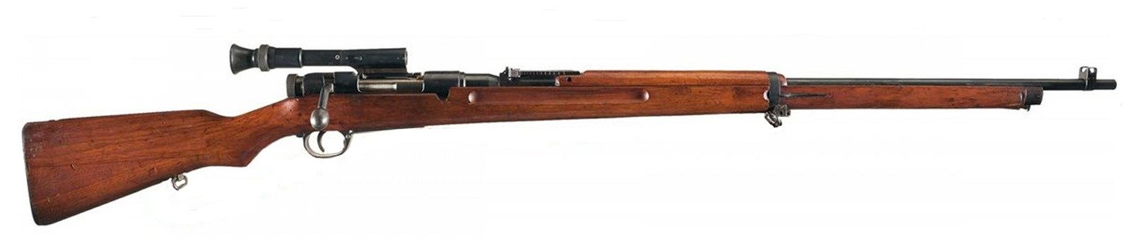 Снайперская винтовка Arisaka Type 97.