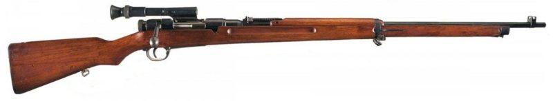 Снайперская винтовка Arisaka Type 97.