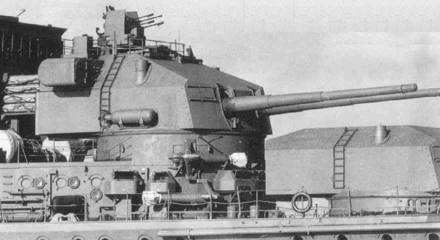 Орудие 20.3-cm/60 SK C/34 корабельный вариант