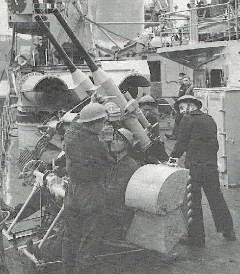 зенитное орудие  37- мм/50  мodèle 1933