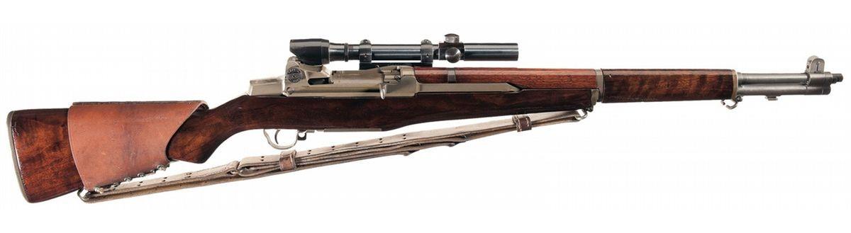 Снайперская винтовка M-1С Garand.