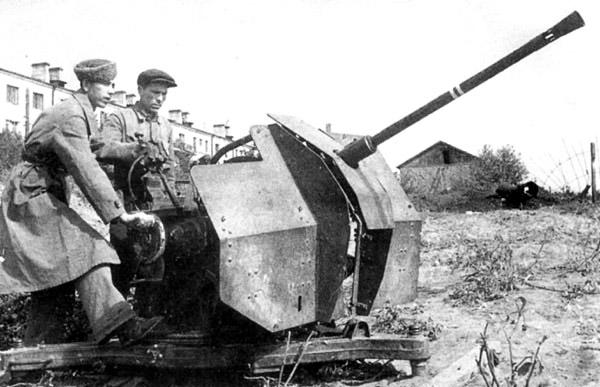 20-мм зенитная пушка 2-К образца 1930 г.