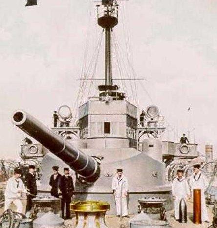 Корабельное орудие 24-cm/40 SK L/40