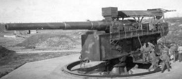 Орудие 30.5-cm SK L/50 береговой вариант