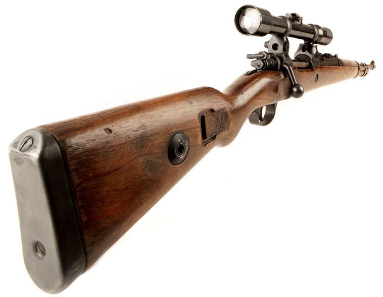 Карабин Mauser 98k с оптическим прицелом ZF-41.