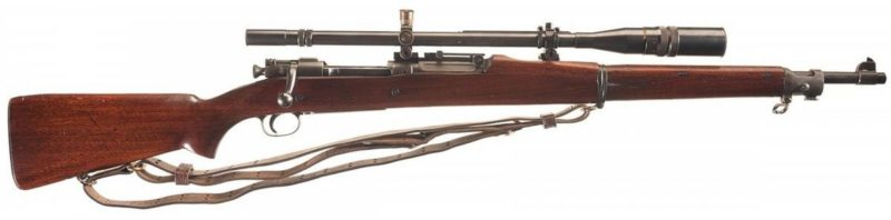 Снайперская винтовка Springfield M-1903А1.