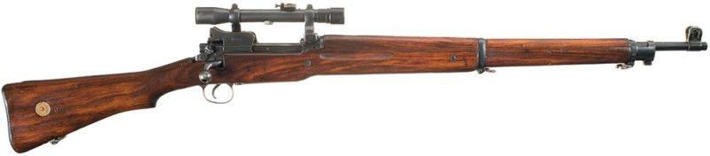 Снайперская винтовка Enfield P.14 Mk-I (T).