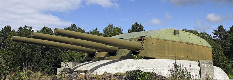 Орудие 28-cm SK C/34 береговой вариант