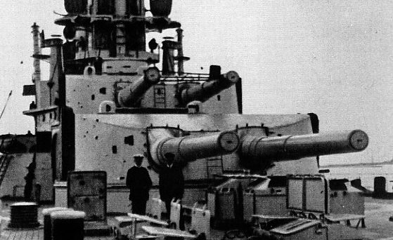 Орудие 30.5-cm SK L/50 корабельный вариант