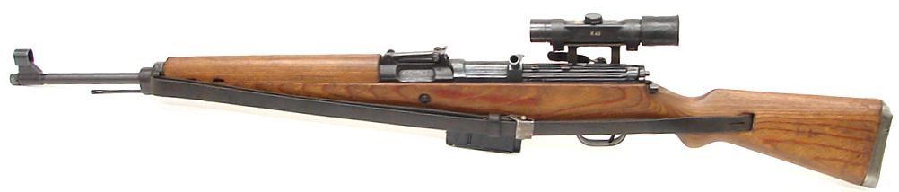 Снайперская винтовка с оптическим прицелом G-43 (W).