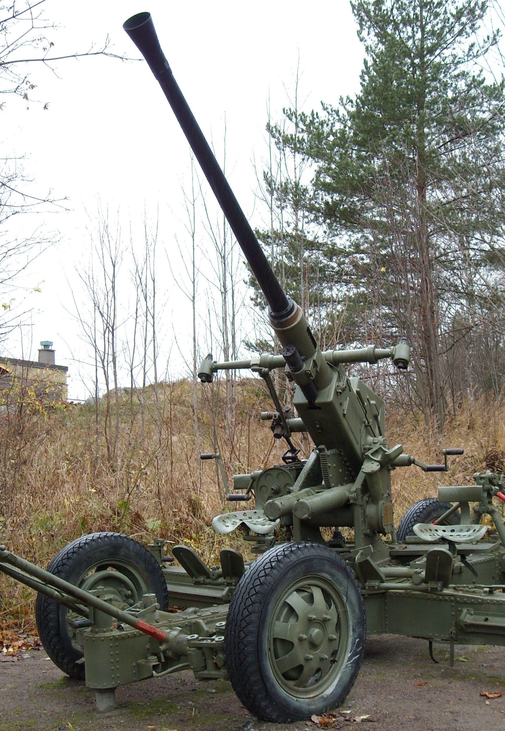 Зенитное орудие Bofors 40-mm L/60