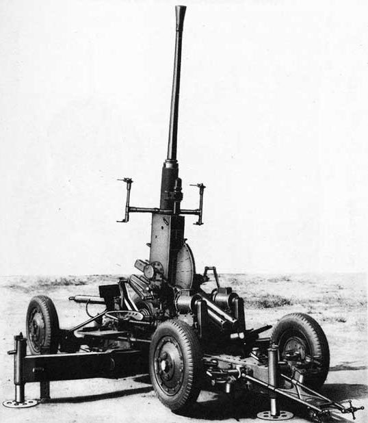 40-мм зенитная пушка М-1 «Bofors».