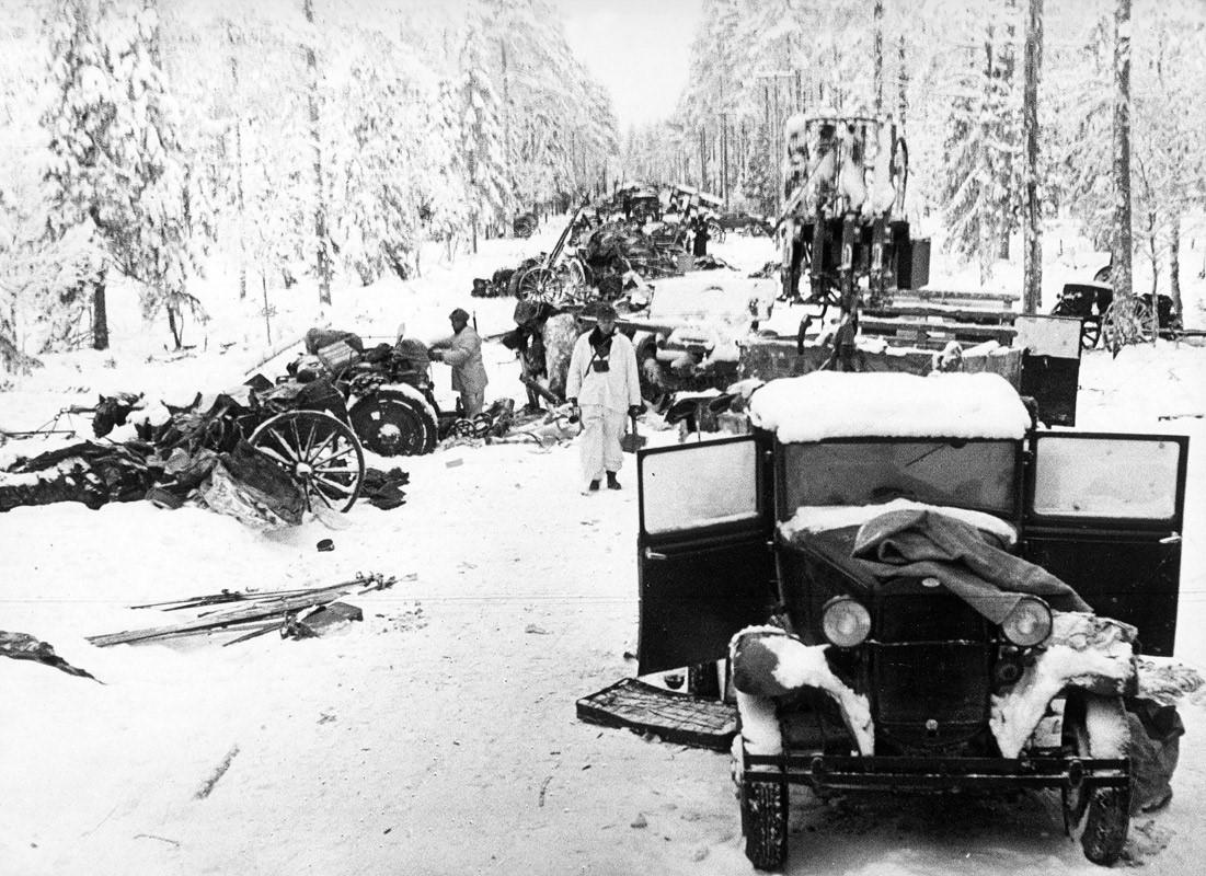 Результат боя с «кукушками». 1940 г.