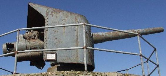 Береговое орудие 15-cm SRL/45