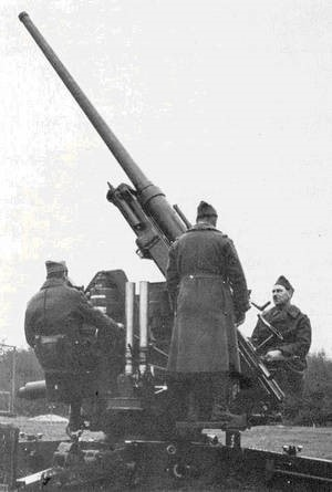 зенитная 75-мм пушка mod. 1936