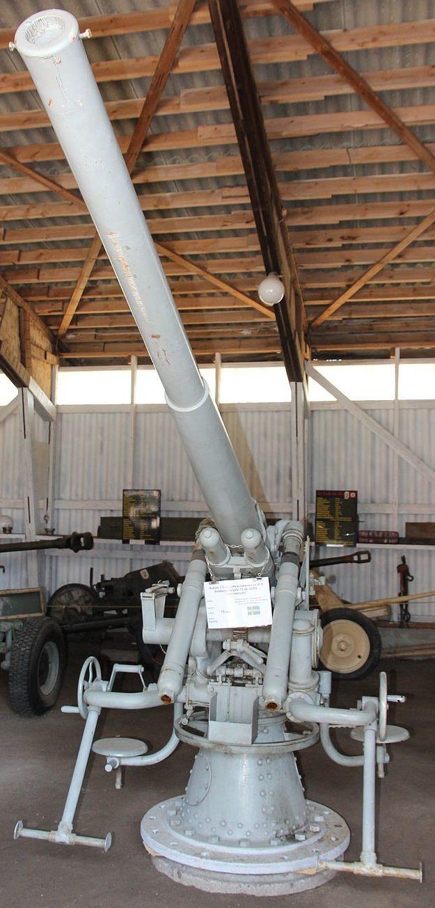 зенитная пушка 75-mm Bofors M/ 29
