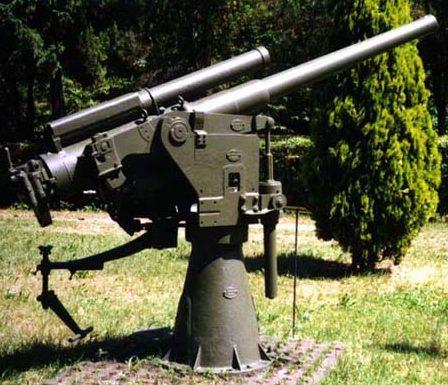 Зенитная пушка 76/40 RM