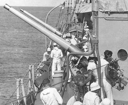 Корабельный ариант зенитной пушки 76-mm 3 Inch M-3 L / 50
