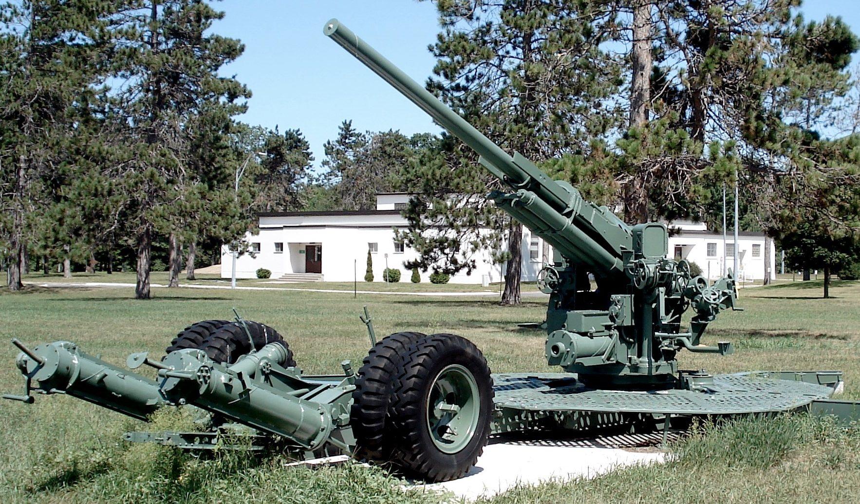 Зенитная пушка 90-mm M-1A1 L / 50