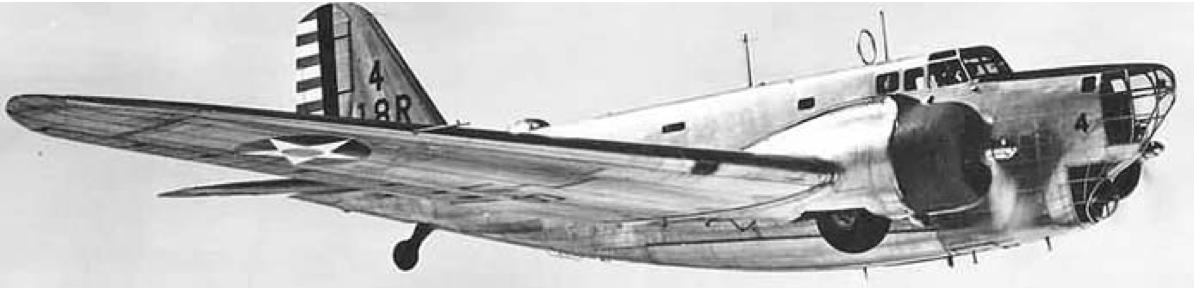 Бомбардировщик Douglas B-18 Bolo
