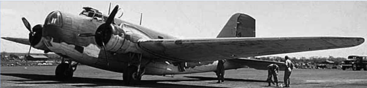 Бомбардировщик Douglas B-18
