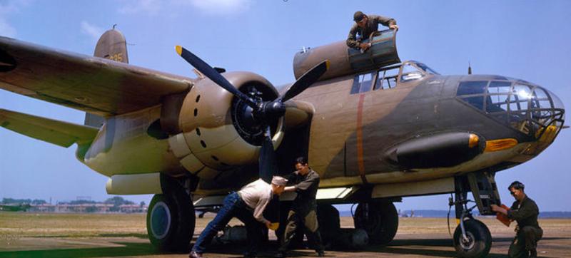 Бомбардировщик Douglas А-20С