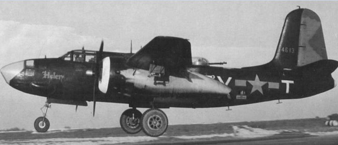Бомбардировщик Douglas А20К