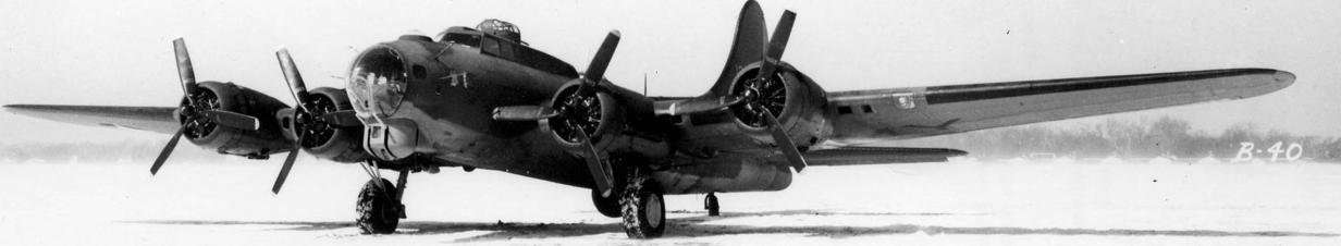 Бомбардировщик Flying Fortress B-40