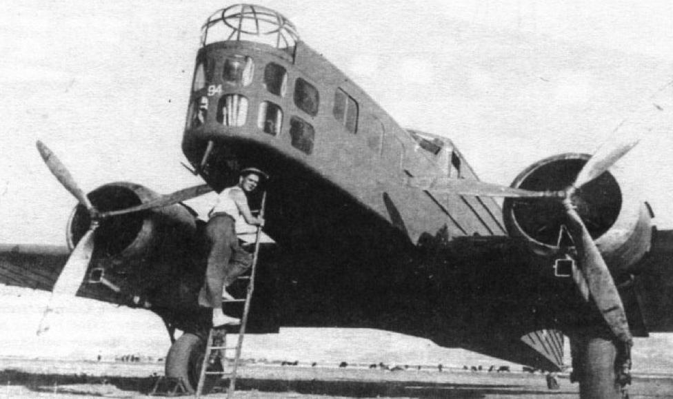 Бомбардировщик Bloch MB.210
