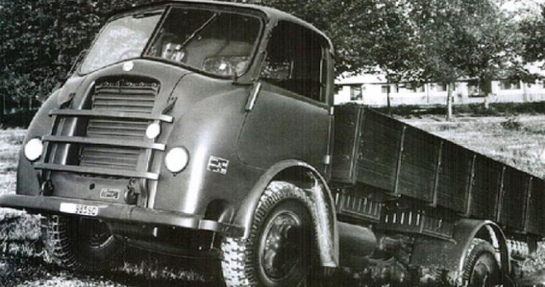 Бортовой грузовик Alfa Romeo 800-RE