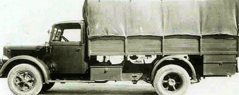 Бортовой грузовик Bianchi Mediolanum-36