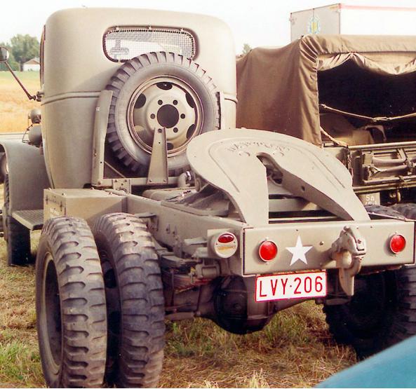 Седельный тягач Cevrolet G-4165